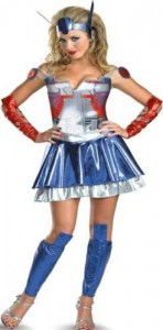 Optimus Prime Costume for Girls