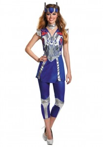 Optimus Prime Girl Costume