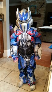 Optimus Prime Kids Costume
