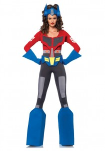 Optimus Prime Womens Costume