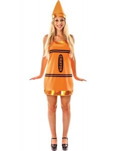 Orange Crayon Costume