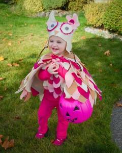 Owl Toddler Costume