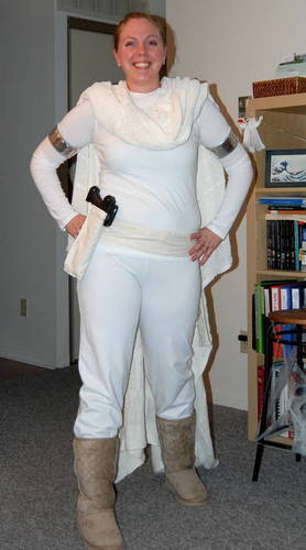 Padme Amidala Halloween Costume  sc 1 st  Parties Costume : padme amidala white battle costume  - Germanpascual.Com