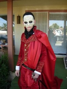 Phantom of the Opera Red Death Costume