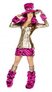 Pimp Costume for Girls