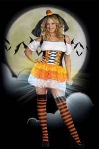 Plus Size Candy Corn Costume