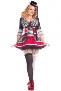 Plus Size Circus Costume