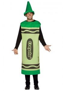 Plus Size Crayon Costume