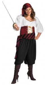 Plus Size Female Pirate Costume