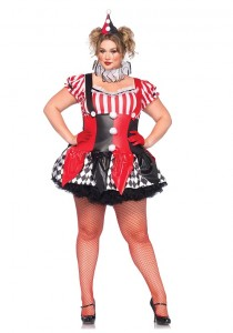 Plus Size Harlequin Costume