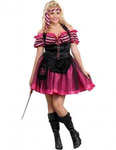 Plus Size Ladies Pirate Costume