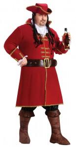 Plus Size Mens Pirate Costume