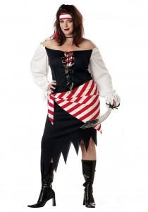 Plus Size Pirate Costume Female