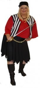 Plus Size Pirate Costume Images