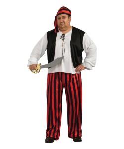 Plus Size Pirate Costume Men