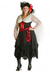 Plus Size Pirate Costume Women