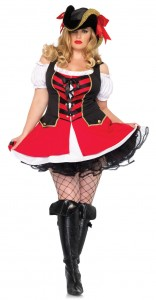 Plus Size Pirates Costumes