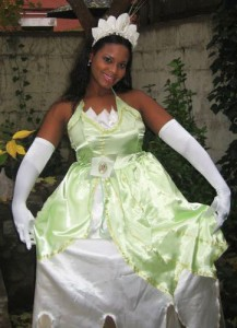 Plus Size Princess Tiana Costume
