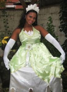 Plus Size Princess Tiana Costume