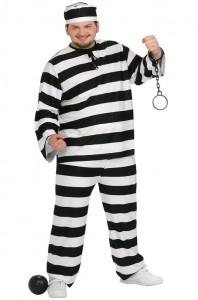 Plus Size Prisoner Costume