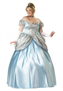 Plus Size Sleeping Beauty Costume