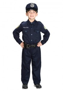 Police Officer Costume Child