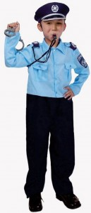Police Officer Costume for Toddler
