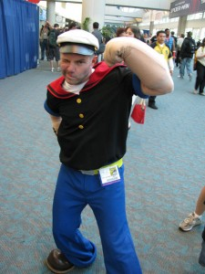 Popeye Arms Costume
