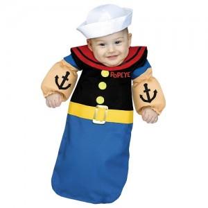 Popeye Baby Costume