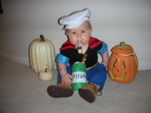 Popeye Costume Infant
