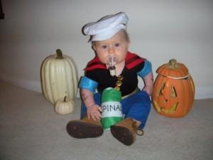 Popeye Costume Infant