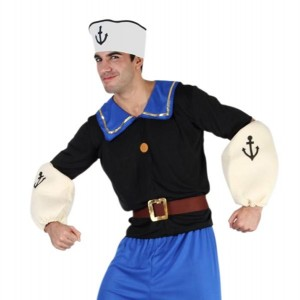 Popeye Costumes for Adults