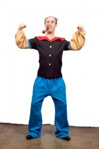 Popeye the Sailor Costume