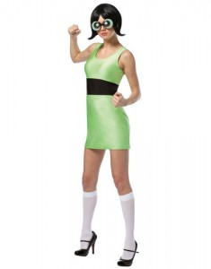 Powerpuff Girls Costumes Buttercup