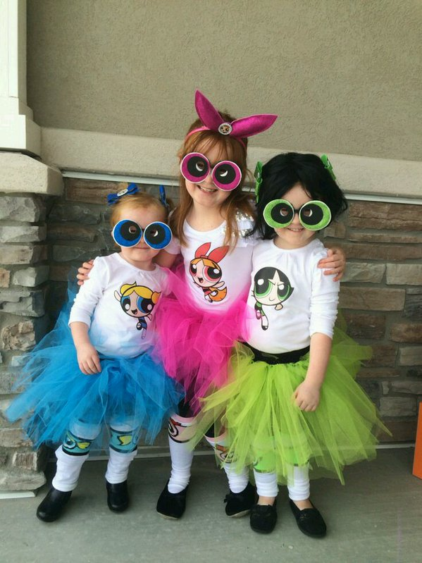 powerpuff girls costumes for toddlers
