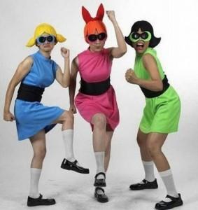 Powerpuff Girls Halloween Costumes