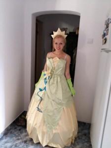 Princess Tiana Adult Costumes