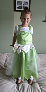 Princess Tiana Costume DIY