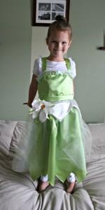 Princess Tiana Costume DIY
