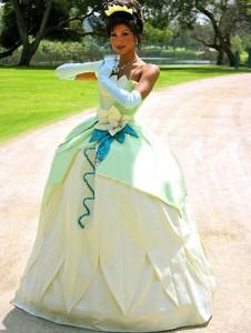 Princess Tiana Costume for Women