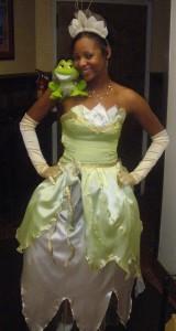 Princess Tiana Halloween Costume