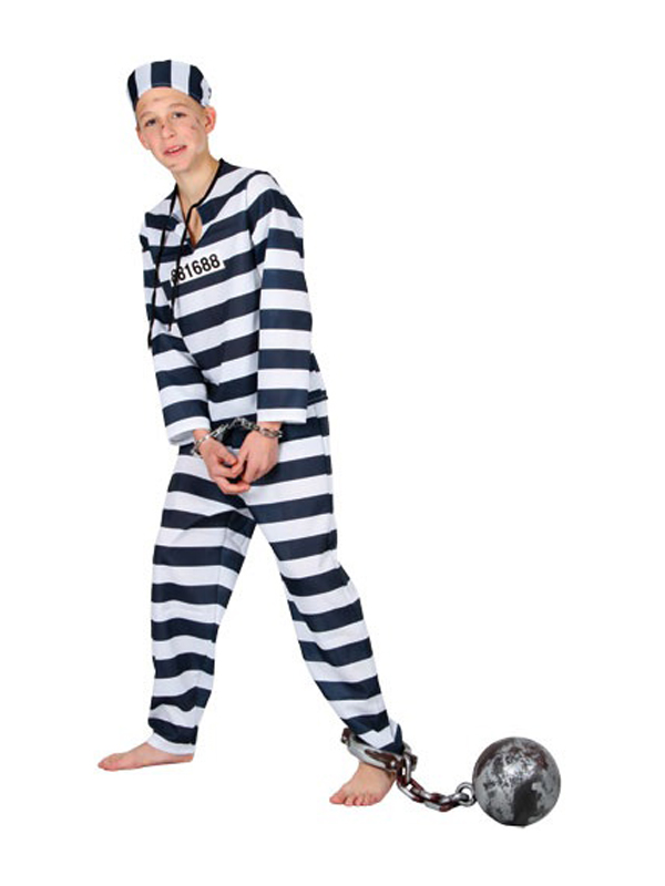Jail Inmate Halloween Costume