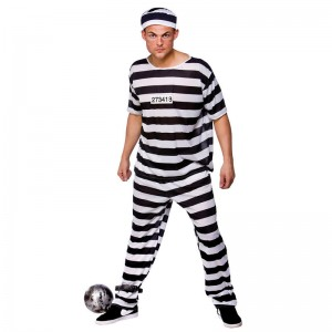Prisoner Costume Men
