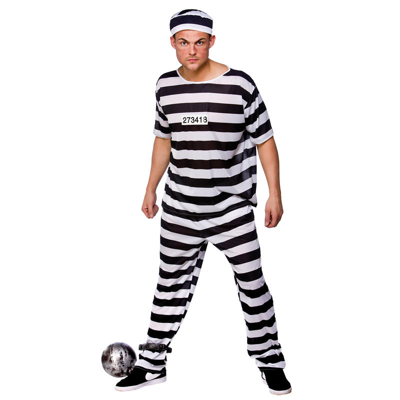 teen Convict costume man