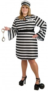 Prisoner Costume Women