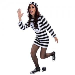 Prisoner Costume Women's