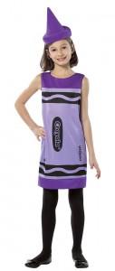Purple Crayon Costume