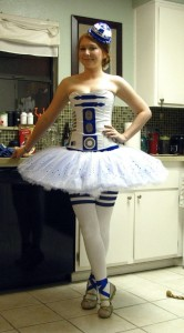 R2D2 Costume Women