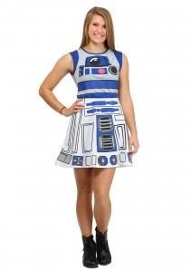 R2D2 Womens Costume
