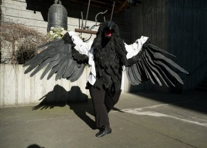 Raven Costume Wings